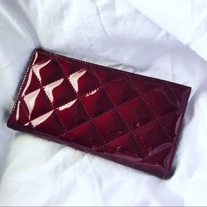 ♥️Forever 21 deep red wallet ♥️